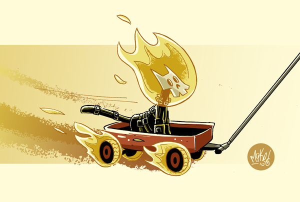 Ghost-rider-Mike Maihack
