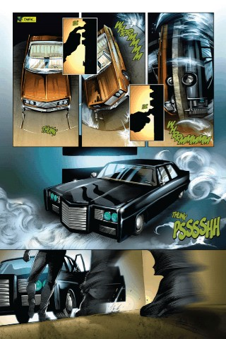 Green-hornet-black-beauty-garage