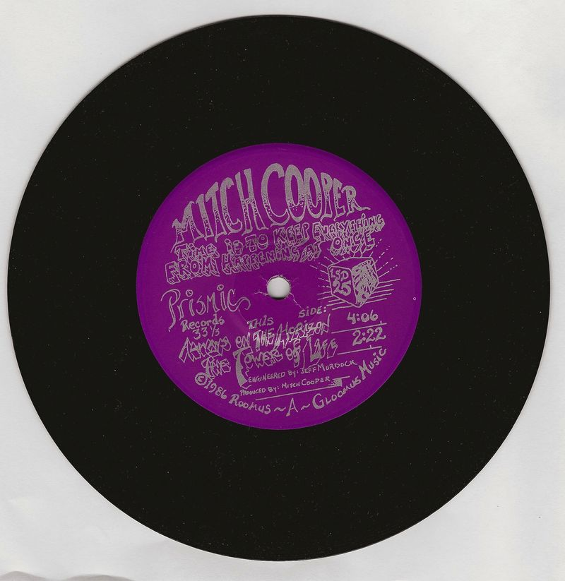 Mitch-cooper-time-is-to-keep-everything-vinyl-single