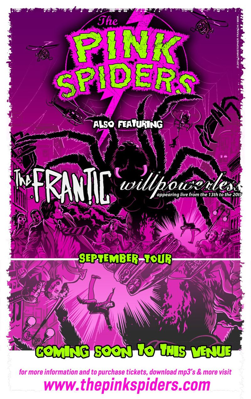 Pink-spiders-tour-poster