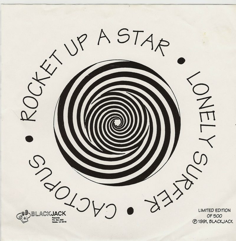 Cactopus-rocket-up-a-star-vinyl-picture-sleeve-back