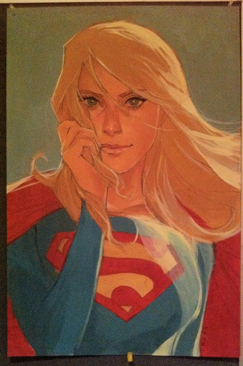 Phil-noto-supergirl-heroes-con-auction