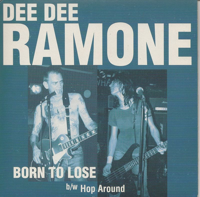 Dee-dee-ramone-born-to-lose-picture-sleeve