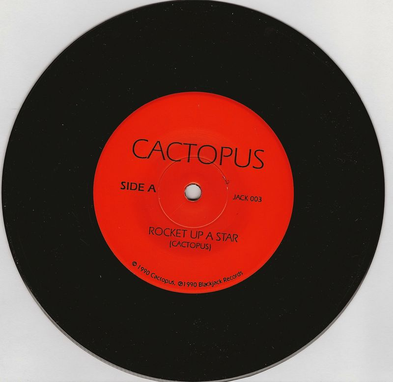 Cactopus-rocket-up-a-star-record-vinyl