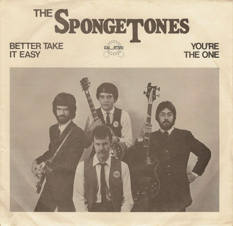 Spongetones-better-take-it-easy-picture-sleeve
