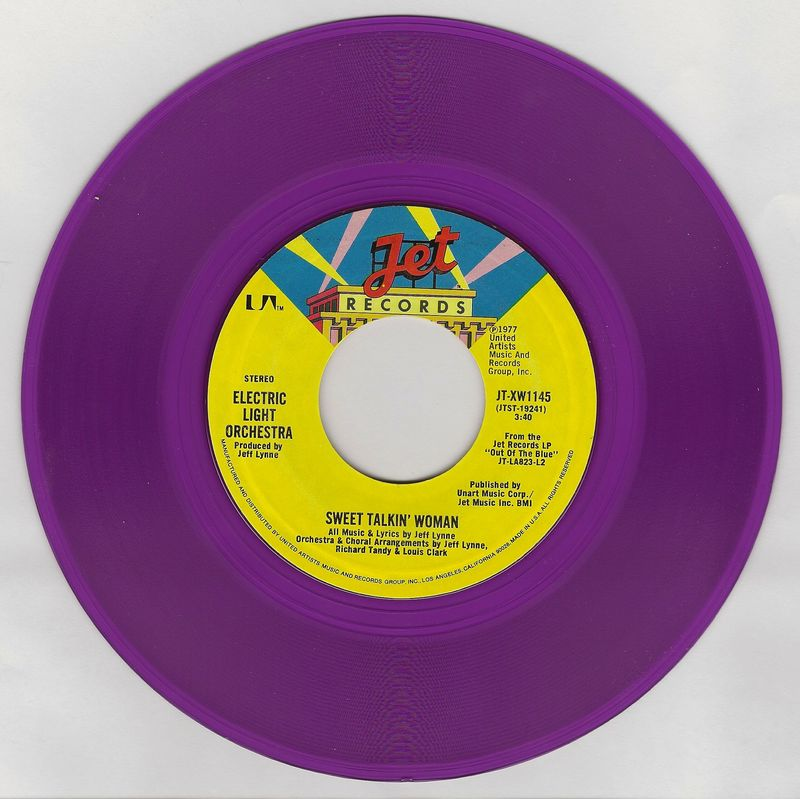 Elo-sweet-talkin-woman-record-purple-vinyl