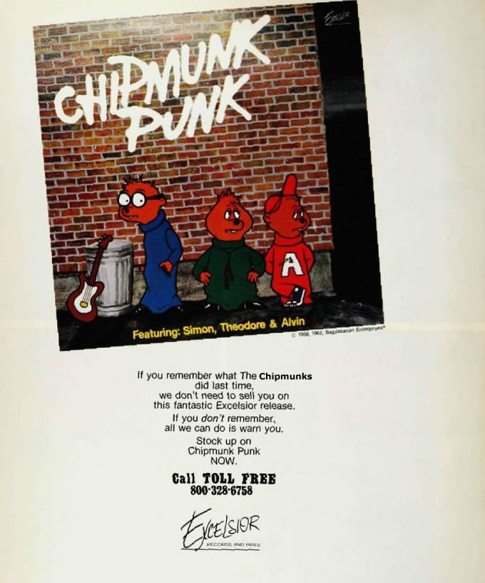 Chipmunk-punk-album