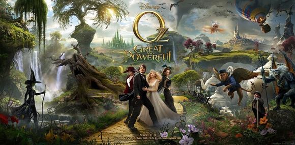 Oz The Great and Powerful - Full Poster