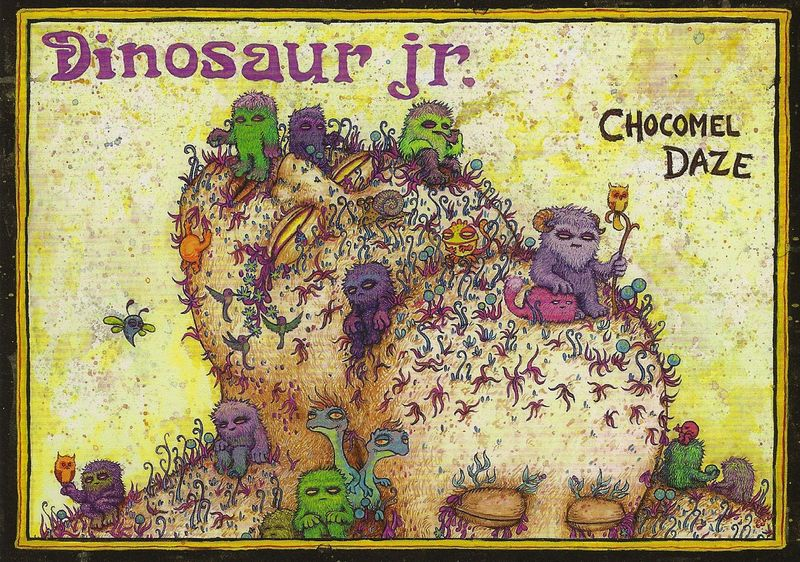 Dinosaur-jr-chocomel-daze-postcard