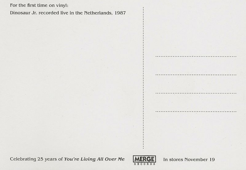 Dinosaur-jr-chocomel-daze-postcard-back