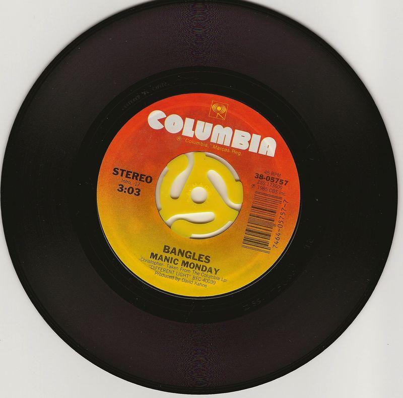 Bangles-manic-monday-vinyl