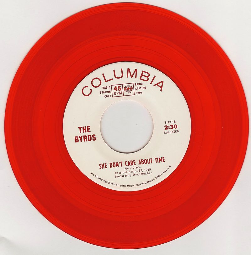 Byrds-She-Don't-Care-About-Time-red-vinyl