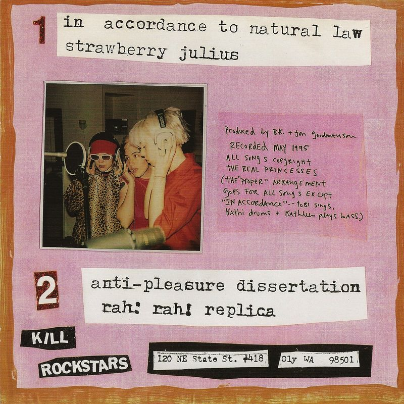 Bikini kill anti pleasure dissertation