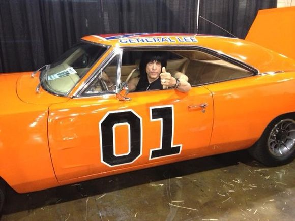 Marky Ramone goes for a drive
