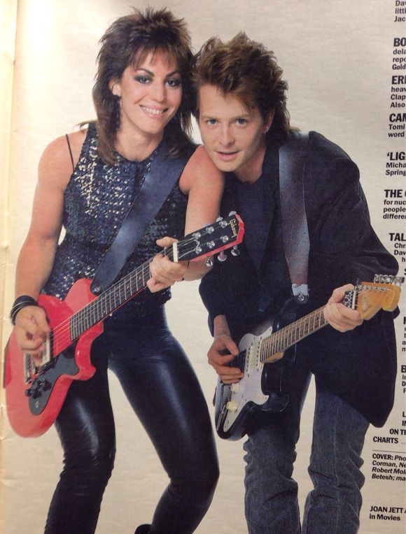 Joan Jett and Michael J Fox - Light of Day