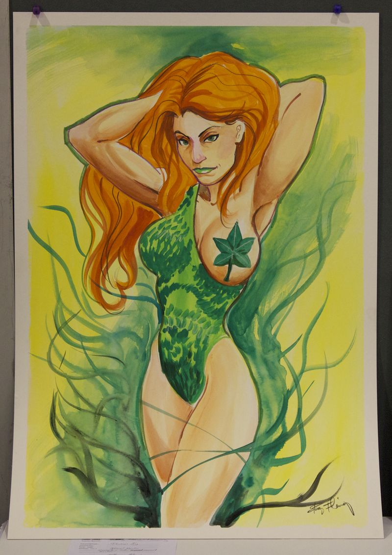 Heroescon-2014-auction-poison-ivy