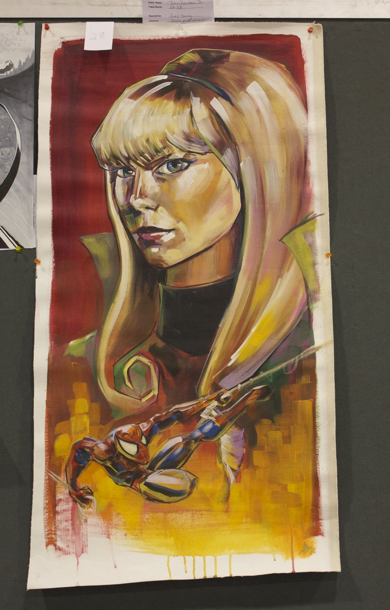 Heroescon-2014-art-auction-gwen-stacy