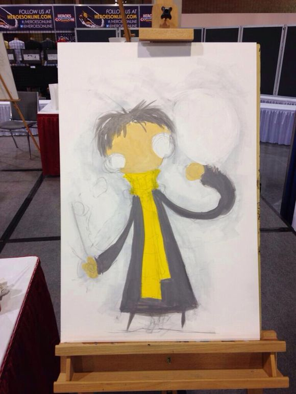 HeroesCon 2014 Skottie Young Harry Potter