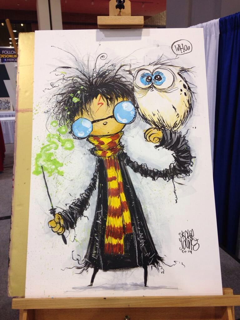 Heroscon-2014-skottie-young-harry-potter