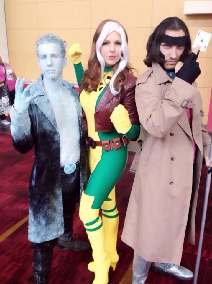 Heroescon-2014-iceman-rogue-gambit