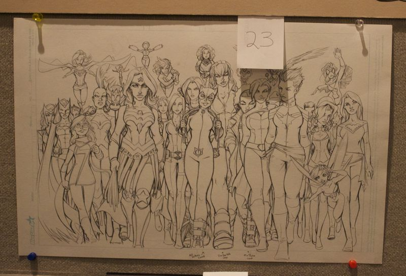 Heroescon-2014-art-auction-powerful-women
