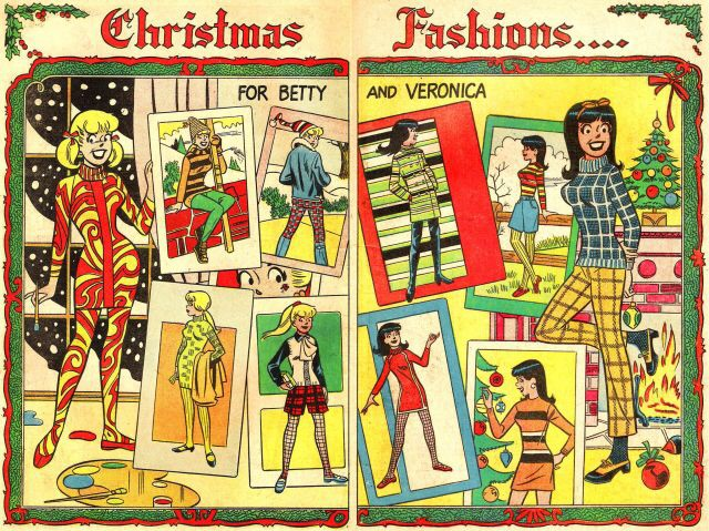 Betty-veronica-christmas-fashion