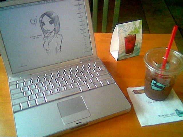 Writing_at_caribou
